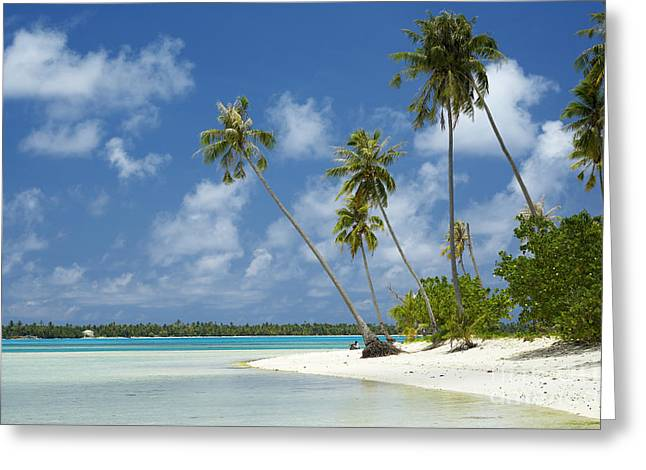 Overhang Greeting Cards - Paradise - Maupiti Lagoon Greeting Card by Kyle Rothenborg - Printscapes