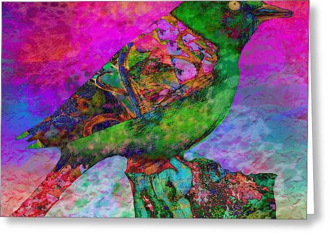 Paradise 1 Greeting Card by Robin Mead