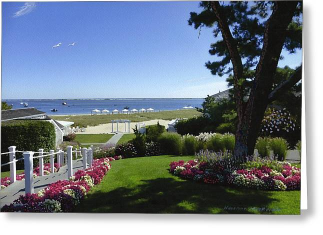 Chatham Greeting Cards - Paradise at CBI Greeting Card by Heather MacKenzie
