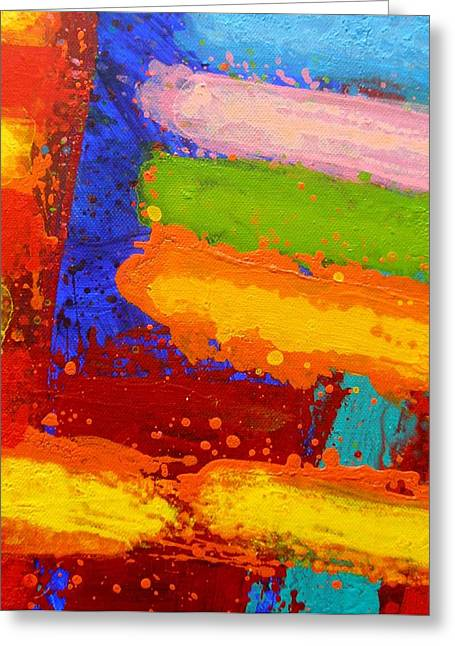 Abstract Movement Greeting Cards - Parallel II Greeting Card by John  Nolan