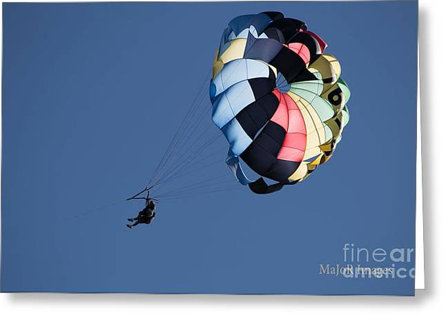 Parasailor Greeting Card by MaJoR Images