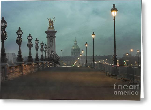 Ironwork Greeting Cards - Paris Greeting Card by Juli Scalzi