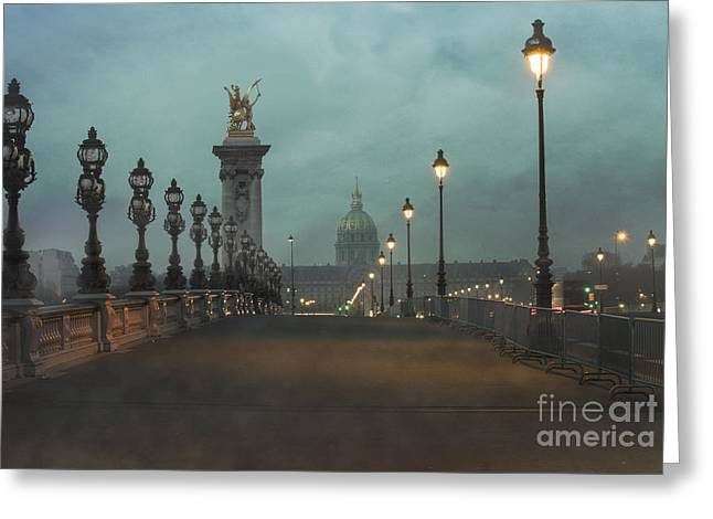 Alexandre Greeting Cards - Paris Greeting Card by Juli Scalzi