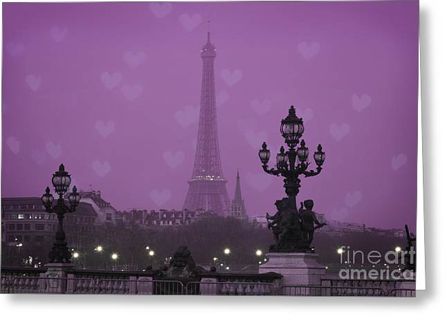 Iconic Places Greeting Cards - Paris Greeting Card by Juli Scalzi