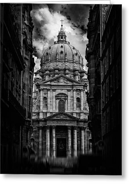 Bw Greeting Cards - Paris Or Roma ? Greeting Card by Klefer