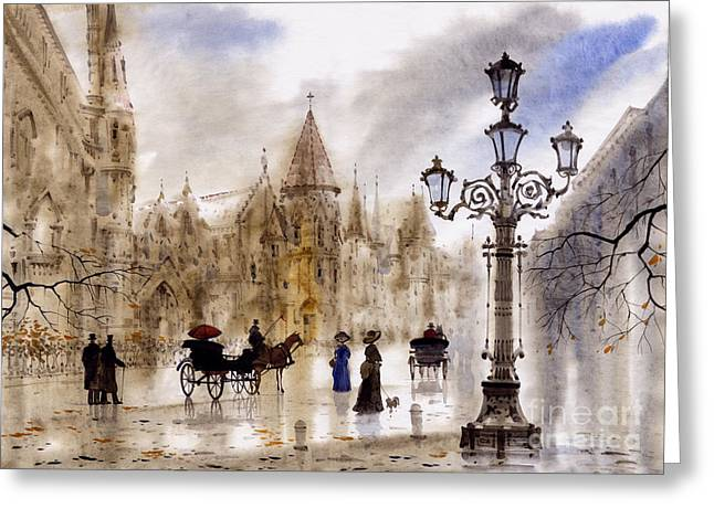 Paris Greeting Card by Svetlana and Sabir Gadghievs