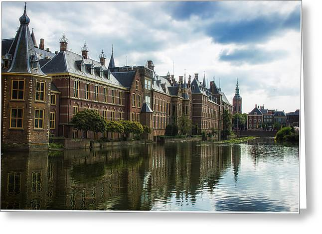 The Hague Greeting Cards - Parliament - The Hague Greeting Card by Cor Gaasbeek