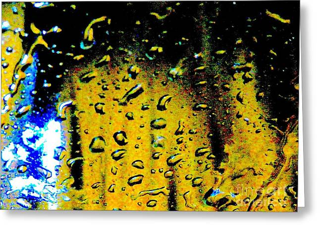 Abstract Digital Digital Art Greeting Cards - Partly Clouded Judgement Greeting Card by Jacqueline Howe