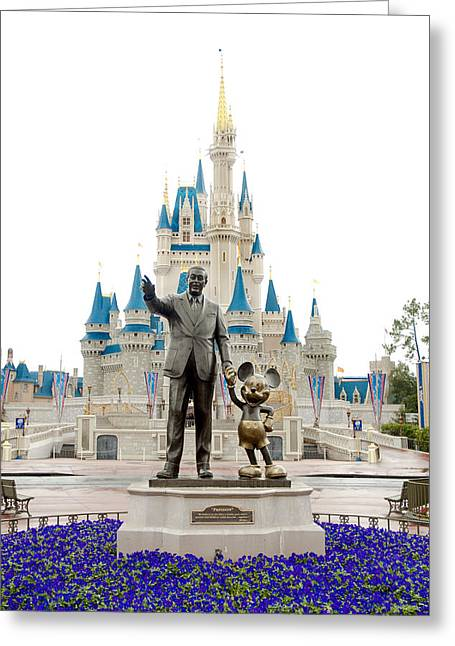 Disney Photographs Greeting Cards - Partners Greeting Card by Greg Fortier