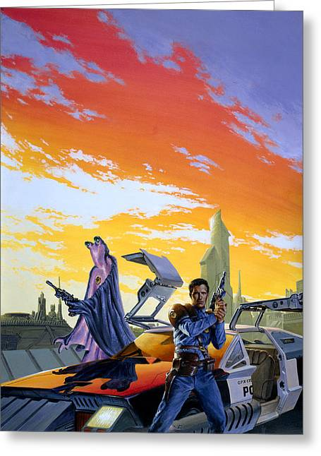 Partners  Greeting Card by Richard Hescox
