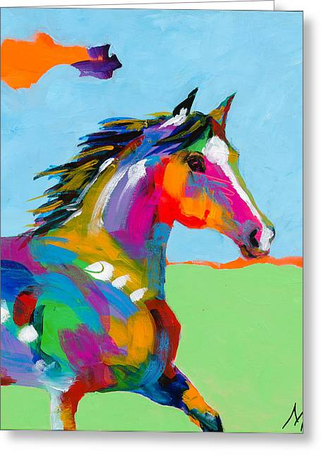 Paso Fino Horse Greeting Cards - Paso A Paso Greeting Card by Tracy Miller