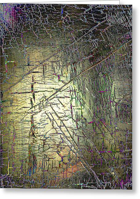 Digitally Altered Greeting Cards - Passage from the Storms Greeting Card by Wayne Potrafka