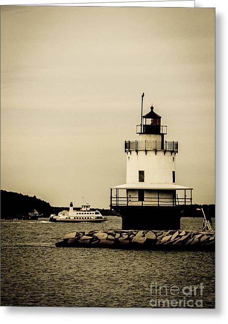 Vacationland Greeting Cards - Passing By Greeting Card by Victory  Designs
