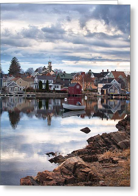 Prescott Greeting Cards - Passing Storm in the South End Greeting Card by Eric Gendron