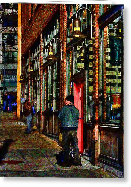Passing Time Greeting Card by David Patterson