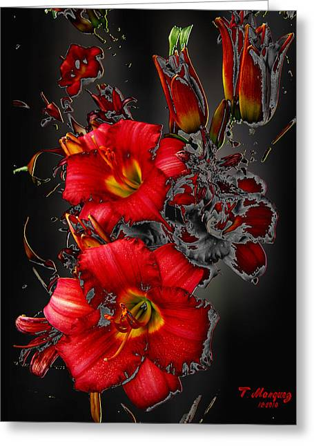 Quite Greeting Cards - Passion Greeting Card by Tony Marquez