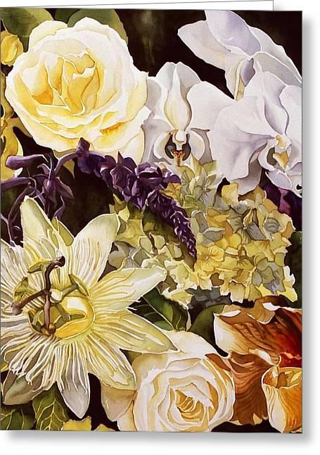 Alfred Ng Watercolor Greeting Cards - Passion With Spring Greeting Card by Alfred Ng
