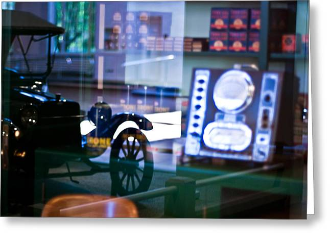 Ford Model T Car Greeting Cards - Past Reflections Greeting Card by Scott  Wyatt