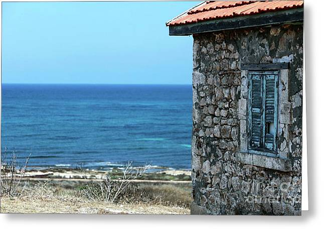 Cypriotic Greeting Cards - Past the House Greeting Card by John Rizzuto