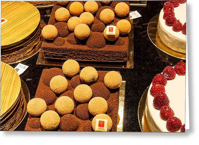 Pastry And Cakes In Lyon Greeting Card by Gary Karlsen