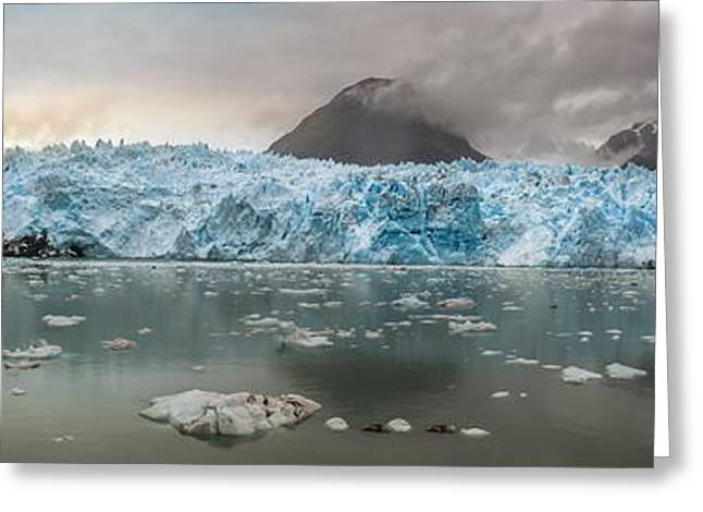 Chile Greeting Cards - Patagonia - Glacier Amalia Greeting Card by Michael Jurek