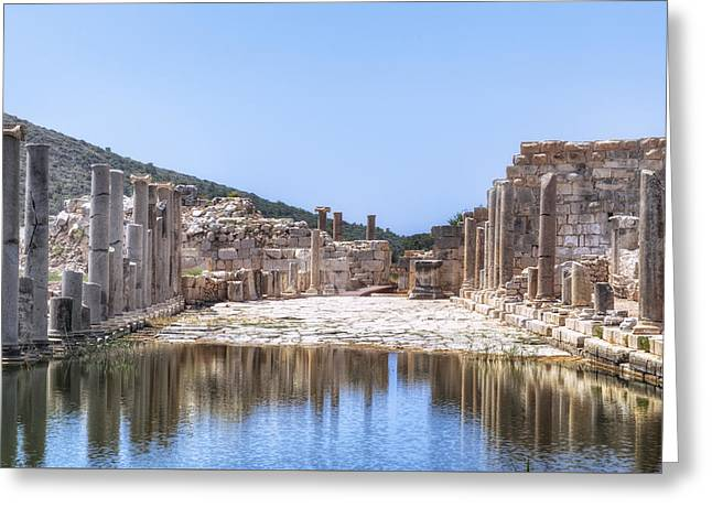 Main Street Greeting Cards - Patara - Turkey Greeting Card by Joana Kruse
