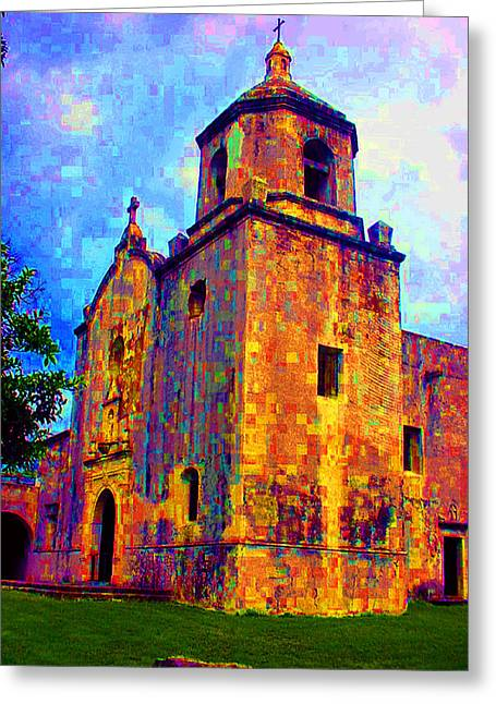 Goliad Texas Greeting Cards - Patchwork of Goliad Greeting Card by Nina Fosdick