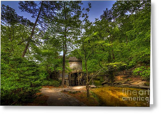 Path To The Mill Greeting Card by Marvin Spates