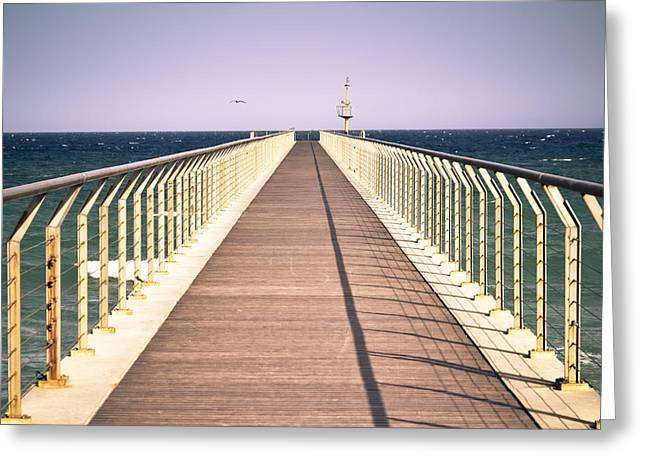 Immeasurable Greeting Cards - Path to the sea. Greeting Card by Marc SOLERMARCE