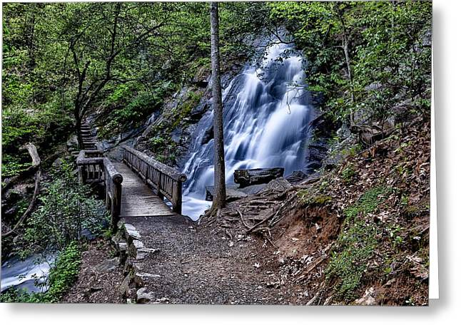 Tennessee Landmark Greeting Cards - Pathways Greeting Card by Douglas Perry