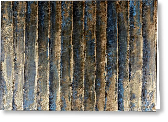 Sienna Greeting Cards - Patina Greeting Card by Mikeal Beland
