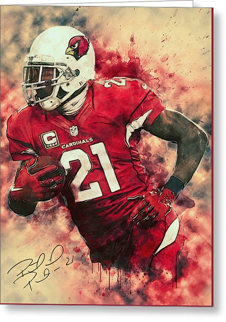 Peterson Greeting Cards - Patrick Peterson Greeting Card by Taylan Soyturk