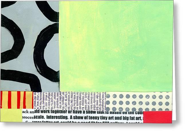 Pattern # 12 Greeting Card by Jane Davies