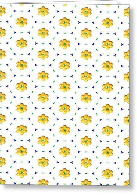 Beauty Mark Greeting Cards - Pattern 16  To Brighten Your Life Greeting Card by Mark Brooks