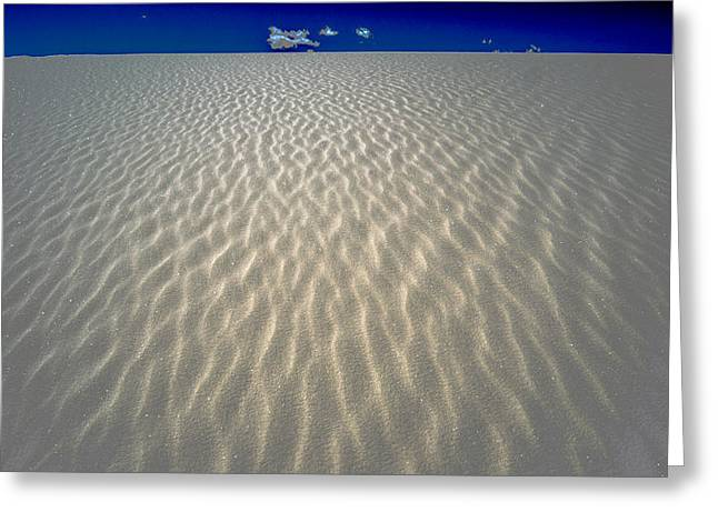 Sand Patterns Greeting Cards - Patterns in Sand Greeting Card by Valerie Wells