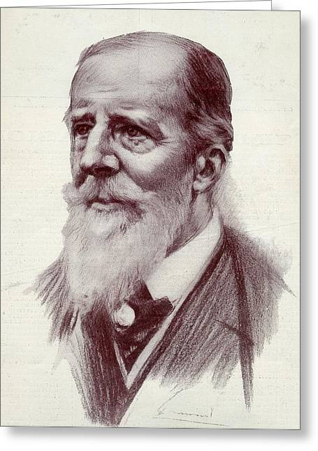 Patriot League Greeting Cards - Paul Deroulede, 1846-1914. French Greeting Card by Ken Welsh