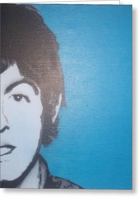 Paul Mccartney Greeting Card by Gary Hogben