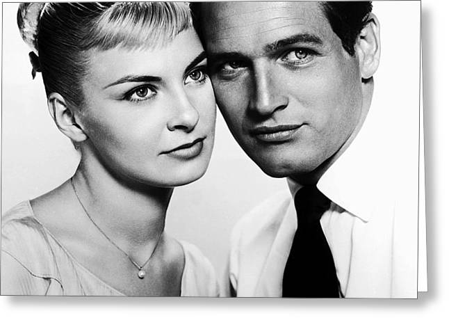 1950s Tv Greeting Cards - Paul Newman and Joanne Woodward in the Long Hot Summer 1958 Greeting Card by 20th Century Fox