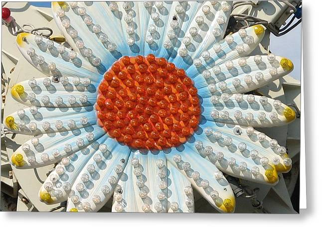 Pavilion Greeting Cards - Pavilion Daisy Greeting Card by Kelly Mezzapelle
