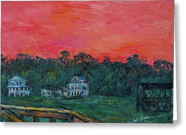 Pawleys Eve Stage Two Greeting Card by Kendall Kessler