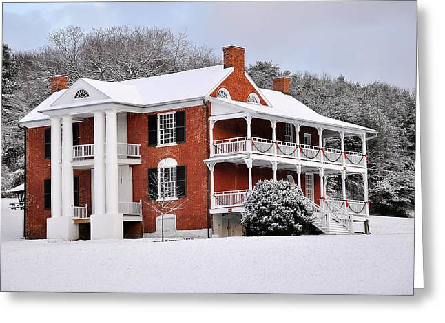 Paxton House Greeting Card by Todd Hostetter