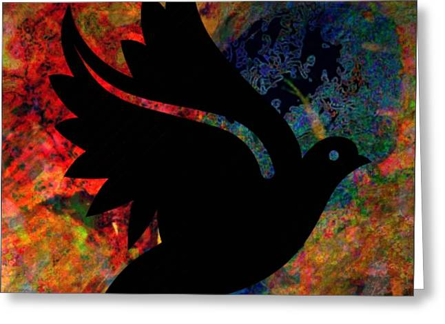 Peace #12 Greeting Card by WBK