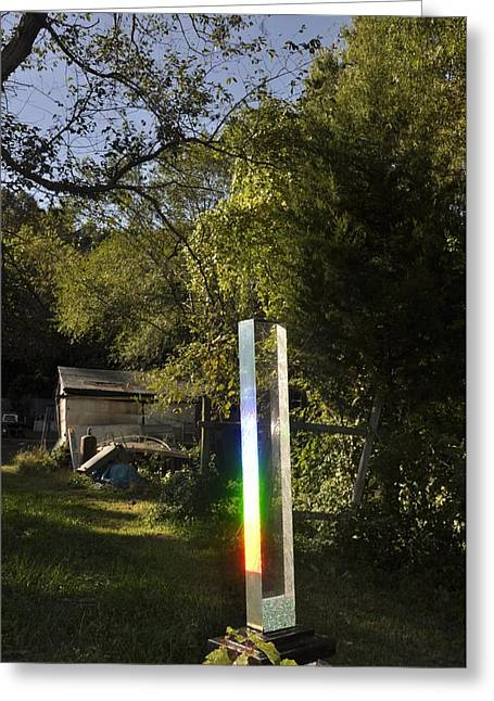 Meditation Sculptures Greeting Cards - Light Stella 2 Greeting Card by Vincent von Frese