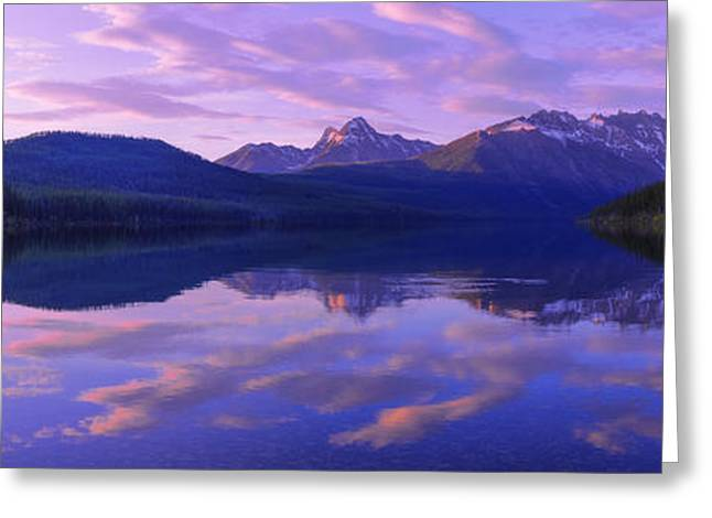 Glacier Greeting Cards - Peace Greeting Card by Chad Dutson