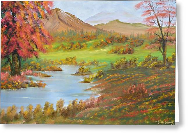 James Higgins Greeting Cards - Peace in the Valley Greeting Card by James Higgins