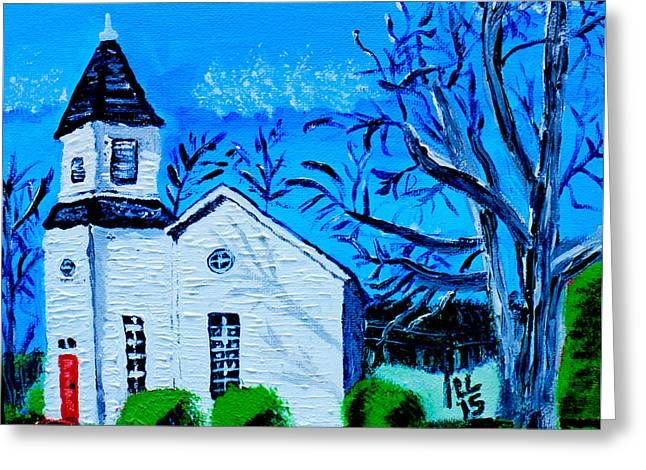 Md Paintings Greeting Cards - Peaceful Blessings Greeting Card by Laura Lawless