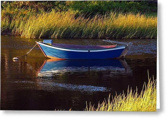 Peaceful Cape Cod Greeting Card by Juergen Roth