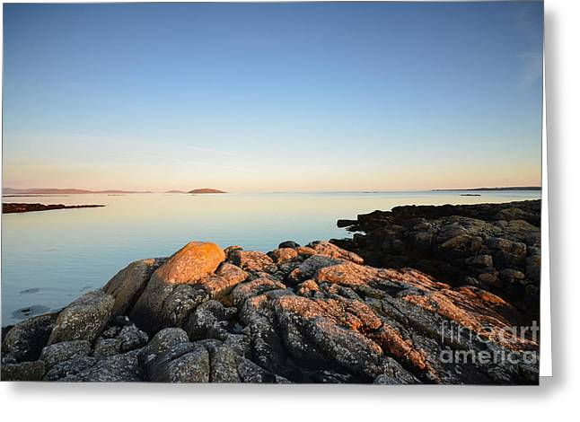 Peaceful Morning Greeting Card by Stephen Smith
