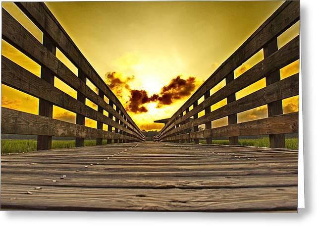 Print Photographs Greeting Cards - Peaceful Pathway Greeting Card by Brian Hamilton