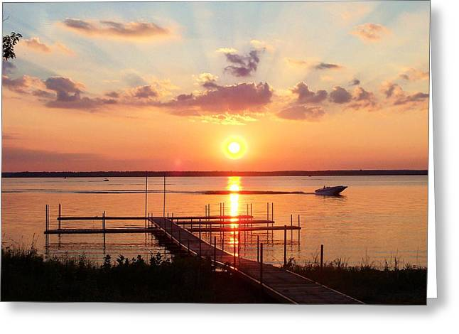 Chosen One Greeting Cards - Peaceful Prayers At Sunset Greeting Card by Judith Asmus Hill